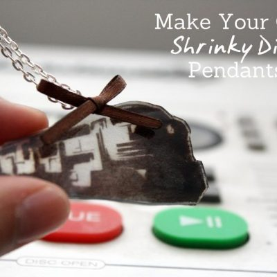 Tutorial: Shrinky Dink Pendants (yes mine may be a Dauntless Train from Divergent)