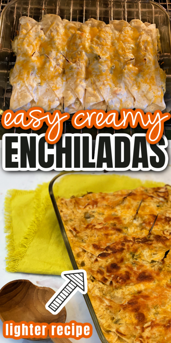 enchiladas in oven and pan