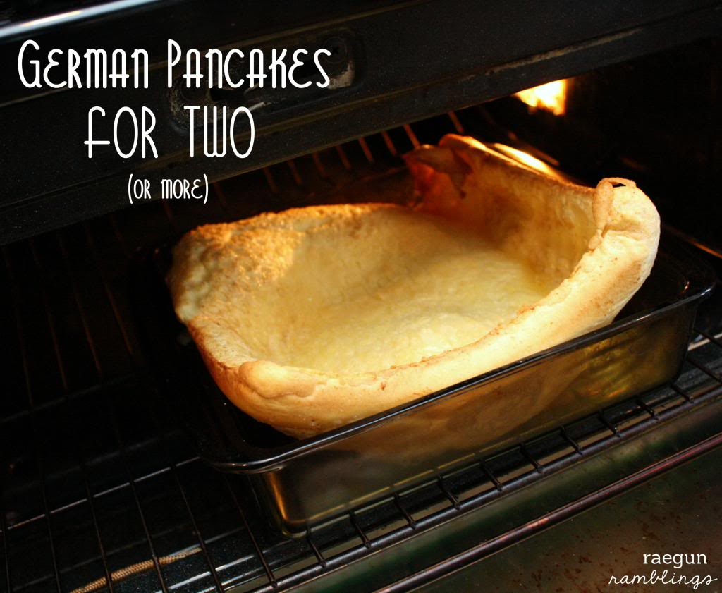 German pancakes for two