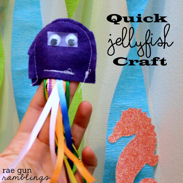 jellyfish kids crafts