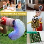 kid summer activities at Rae Gun Ramblings