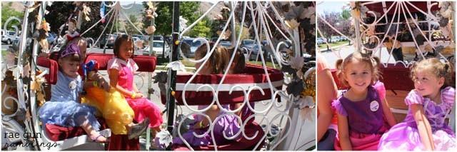 princess festival carriage ride - Rae Gun Ramblings