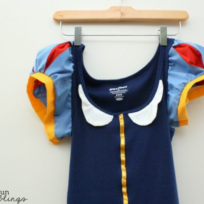 Snow White Shirt Tutorial AKA Grown Ups Can Have Princess Outfits Too