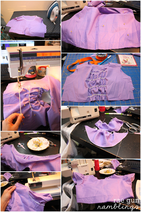 Step by step instructions to making a Fancy Nancy dress (part I the bodice) - Rae Gun Ramblings