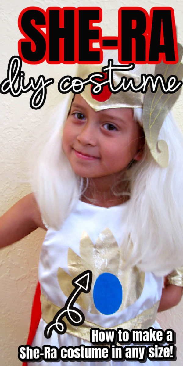 How to make a she-ra costume tutorial for all sizes.