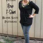 Perfect shirt for that fabric that I just can't bare to use. Flattering and easy to wear - Rae GUn Ramblings