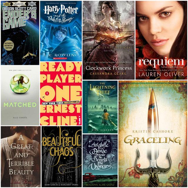 Top Ten Book Character Names I Love