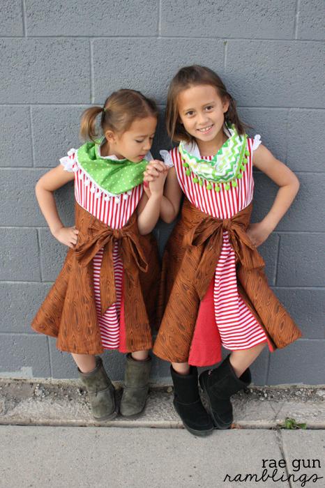 Amaryllis Dress Pattern and Pom Pom Cowl Tutorial - Rae Gun Ramblings