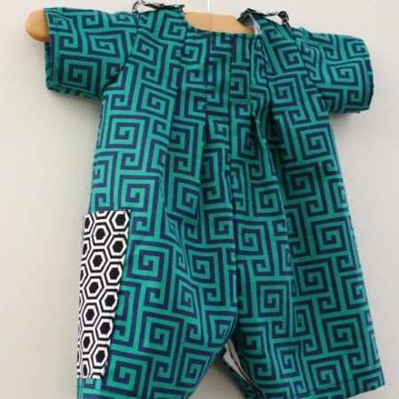Baby boy outfit and how to make shoulder loops - Rae GUn Ramblings