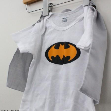 Super Hero Cape Shirt or Onesie Tutorial - Rae GUn Ramblings