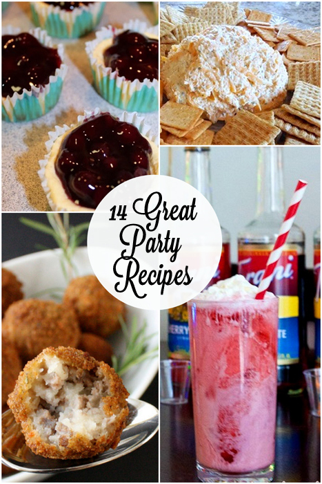Party Recipes at Rae Gun Ramblings