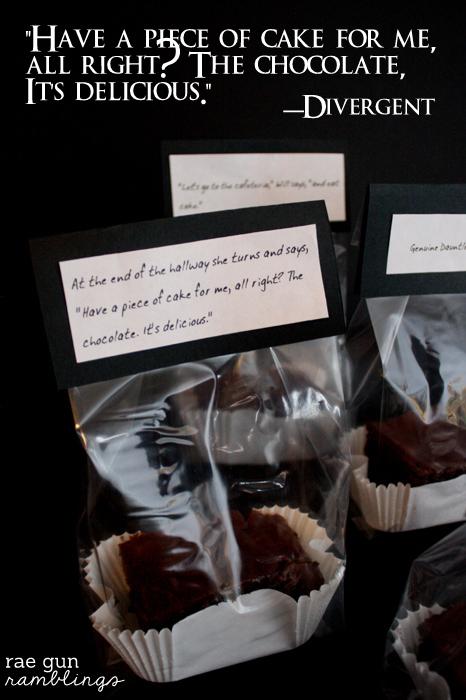 Dauntless Chocolate Cake Recipe and Printable. Super easy and yummy chocolate cake recipe great for Divergent fans and non-readers alike at Rae Gun Ramblings
