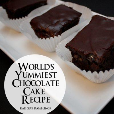 Dauntless Chocolate Cake Recipe and Free Divergent Quote Printables