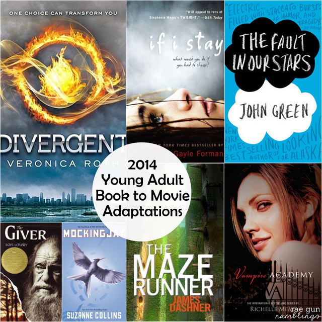 2014 YA Book Movies to Get Excited About