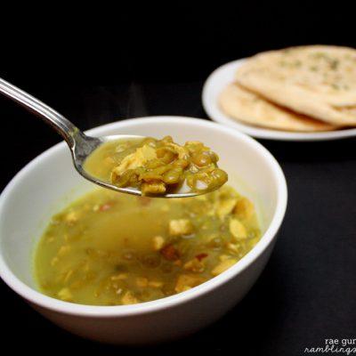 Coconut Curry Chicken Lentil Soup Recipe