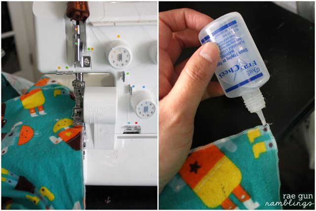 The easiest and best baby blanket tutorial for swaddling and more at Rae Gun Ramblings