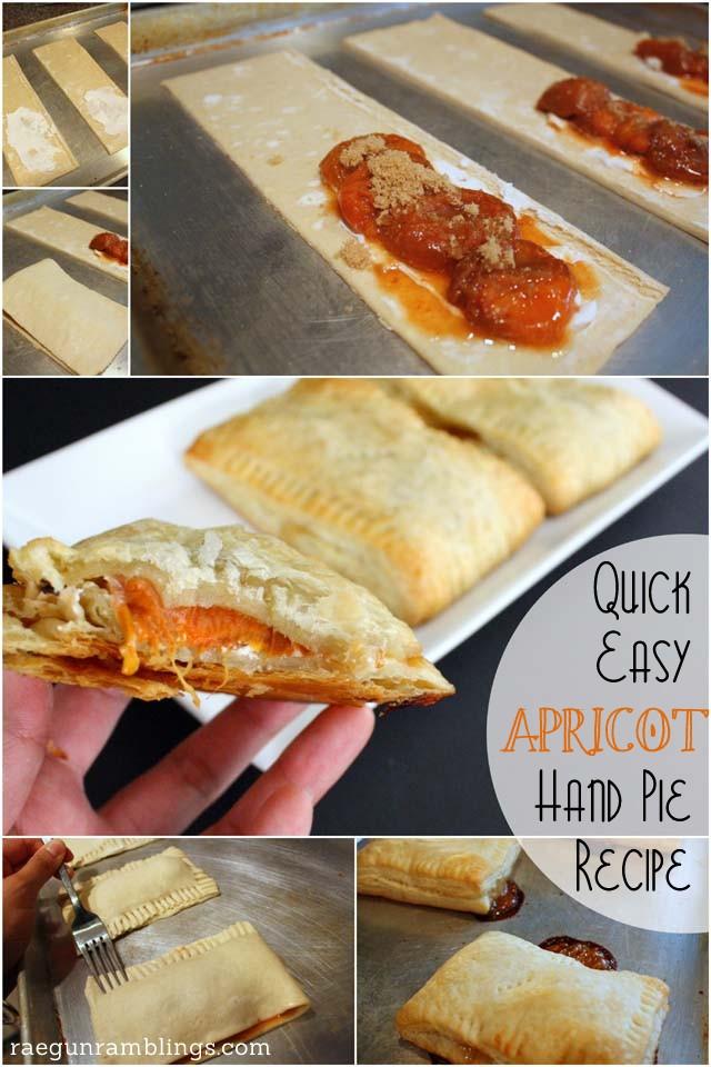 how to make delicious apricot hand pies - Rae Gun Ramblings