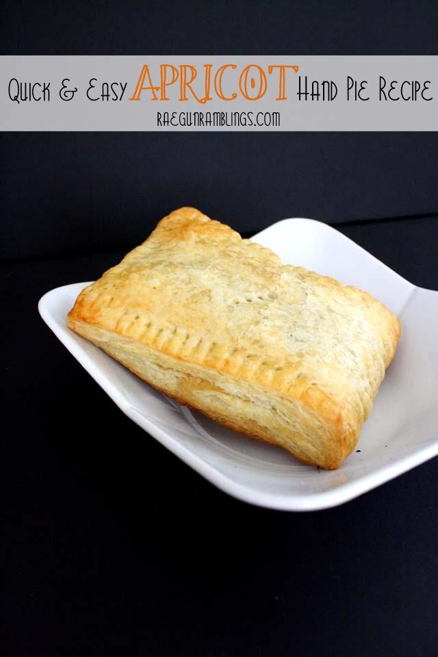 apricot hand pies (with vegan option) by Rae Gun Ramblings
