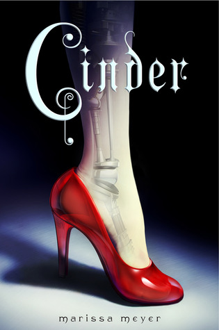 cinder by Marissa Meyer, cinderella meets sci-fi. Great book and series - Rae Gun Ramblings