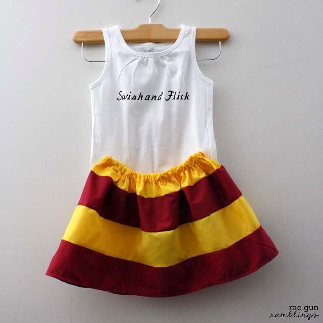 Harry Potter Inspired House pride skirt - Rae Gun Ramblings