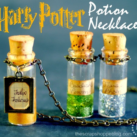 Harry Potter Potions Necklace Tutorial