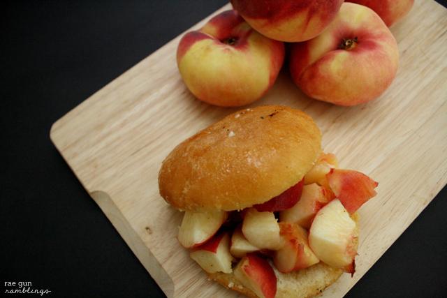 Delicious peach donut recipe - Rae Gun Ramblings