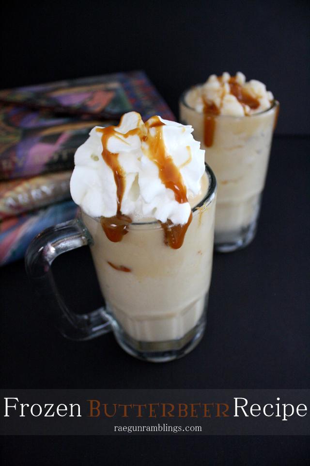 Wizarding World of Harry potter Frozen Butterbeer recipe - Rae Gun Ramblings