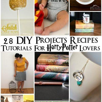 28 Harry Potter DIYs, Tutorials, and Recipes