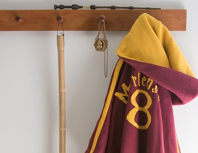 Quidditch Robes Tutorial, Harry Potter Spell Book, and Bellatirx Dress