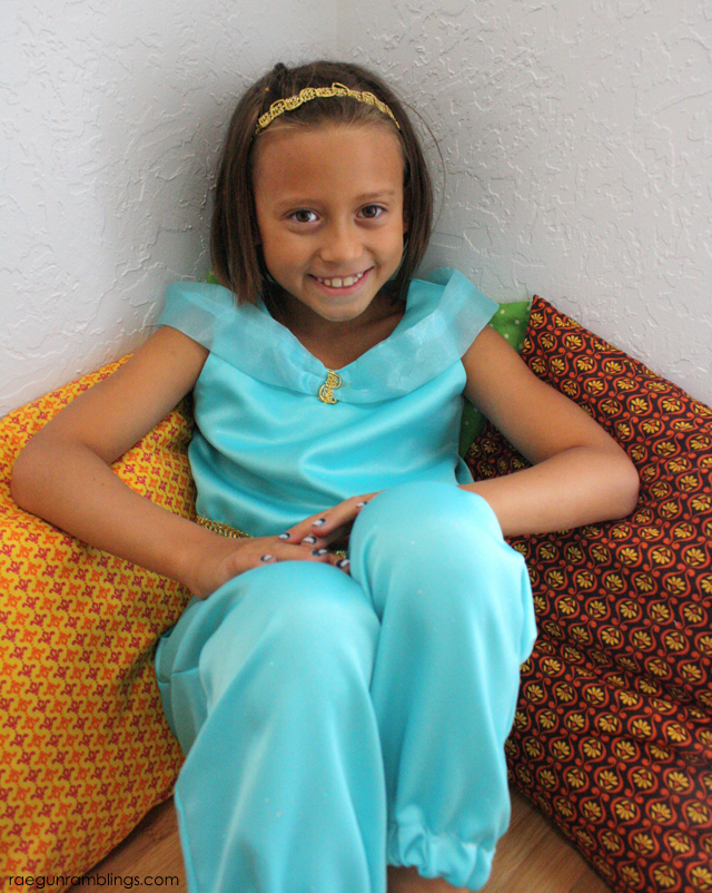 Princess Jasmine Costume Tutorial - Rae Gun Ramblings