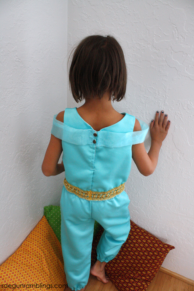 DIY Princess Jasmine Costume - Rae Gun Ramblings