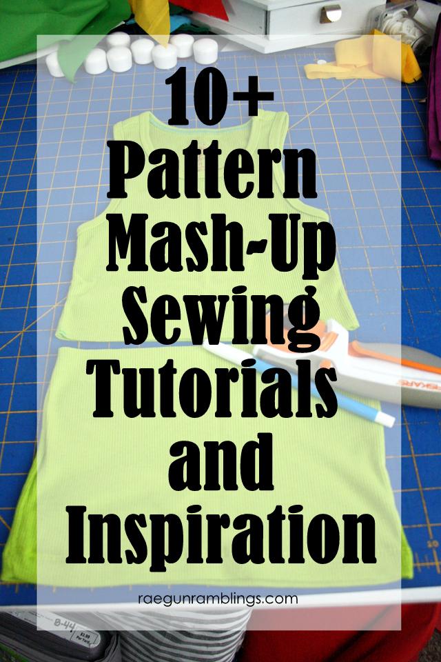 Take two patterns and make something new. Great sewing mash-ups - Rae Gun Ramblings
