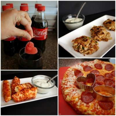 Recipes: The Best Cherry Coke, Cheese Stuffed Bread Sticks, and Pizza Bites