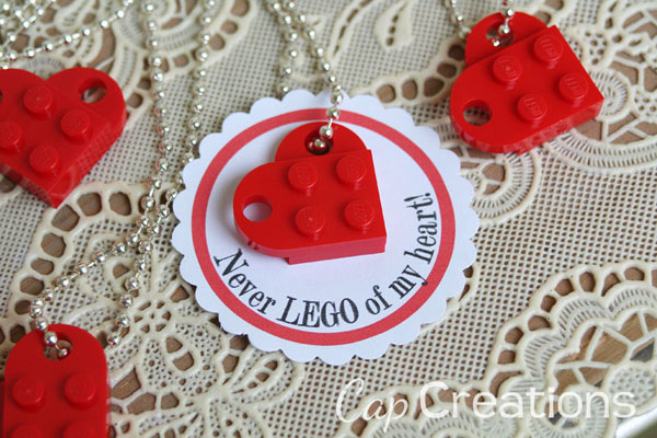 How to make a darling Lego heart