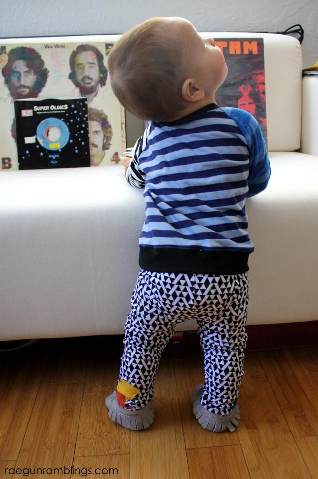Music inspired baby boy outfit- Rae Gun Ramblings