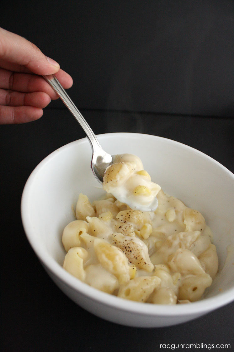 My go to mac and cheese recipe. This is so good and easy and I always have the ingredients on hand.