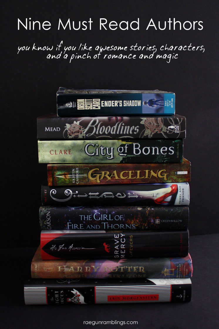 Great list of awesome looking authors to check out.  Must read.