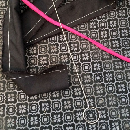 This is the best trick or turning fabric inside out. Must know for all sewing folk.