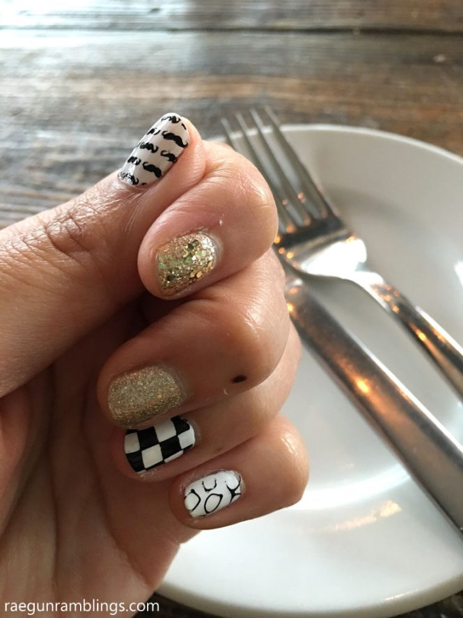 55 Geous French Tip Nail Designs For A Cly Manicure