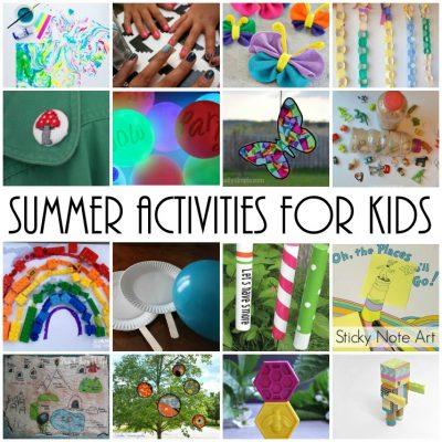Block Party: Summer Kid Activities