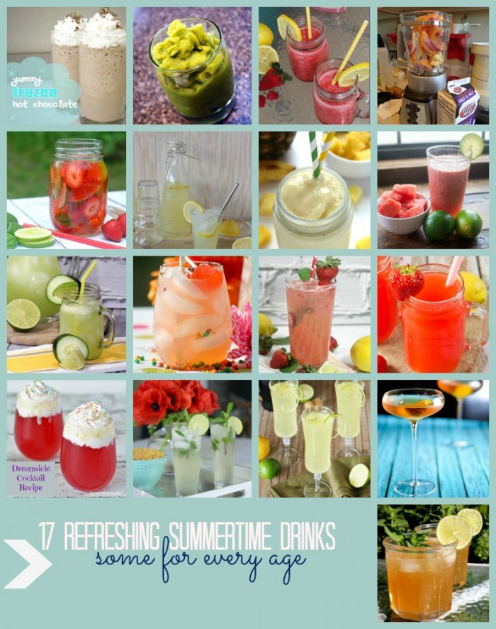 refreshing summer time drink recipes