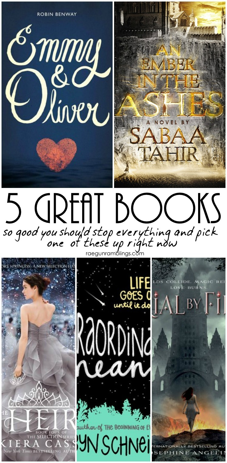 New awesome books to read. These YA titles sound super good.