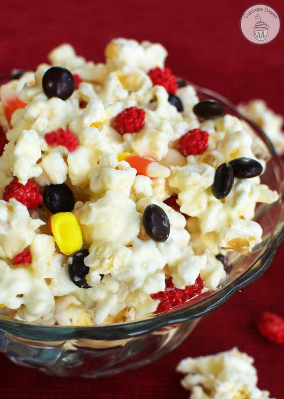 harry Potter gryffindor-popcorn recipe