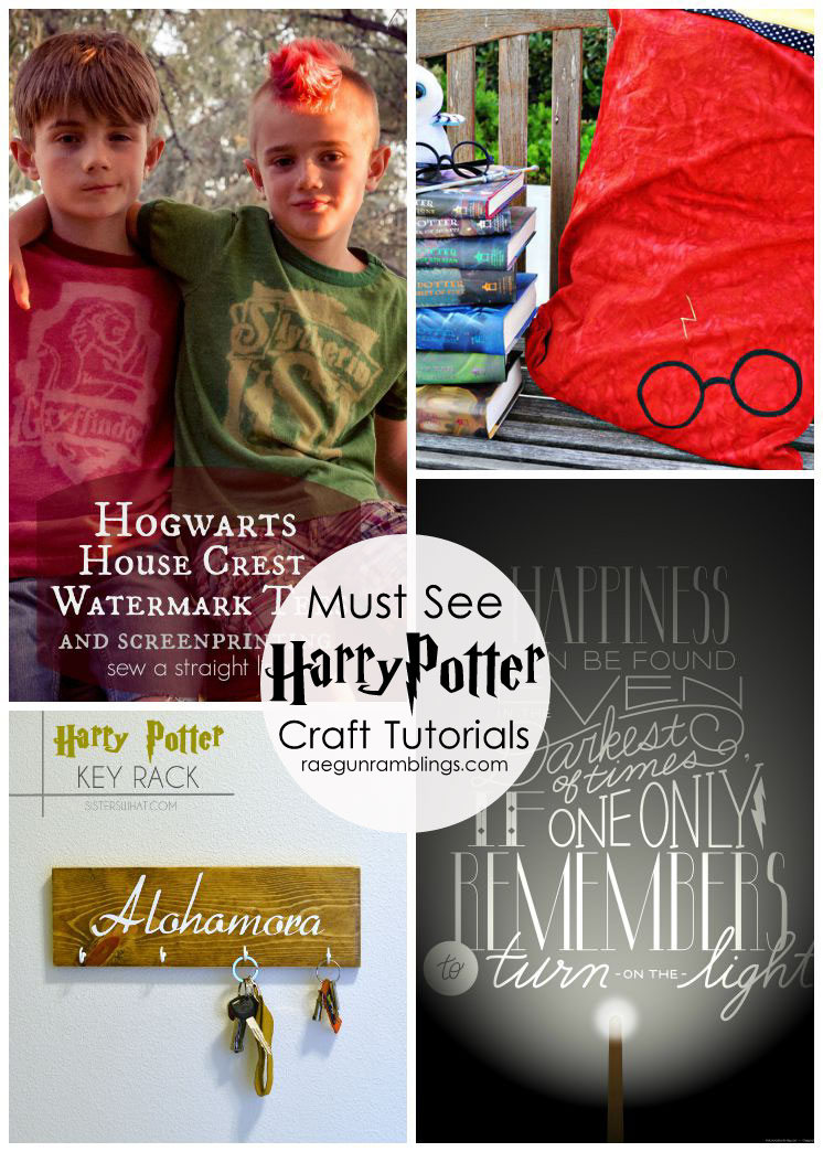 Must see Harry Potter crafts