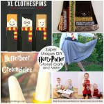 unique Harry Potter related craft tutorials recipes and more (great gift ideas)