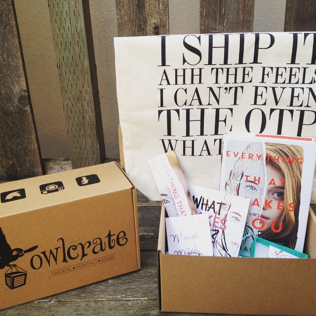 Owl Crate. perfect gift idea for book lovers.