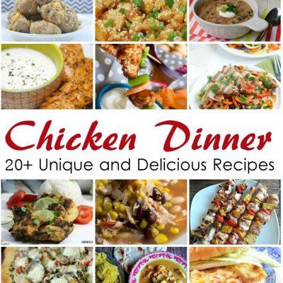 20+ Fantastic Chicken Dinner Recipes