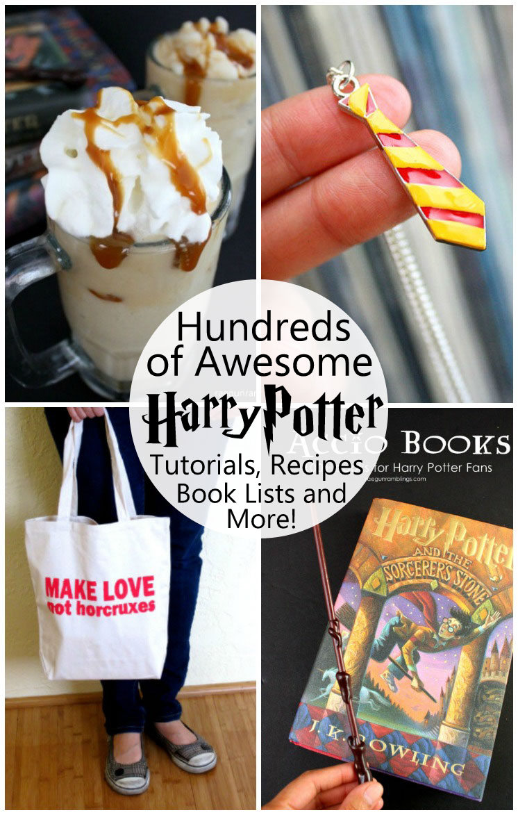 Best resource for all things Harry Potter! Party ideas, tutorials, printables, sewing projects, recipes, book lists, shirts and so much more