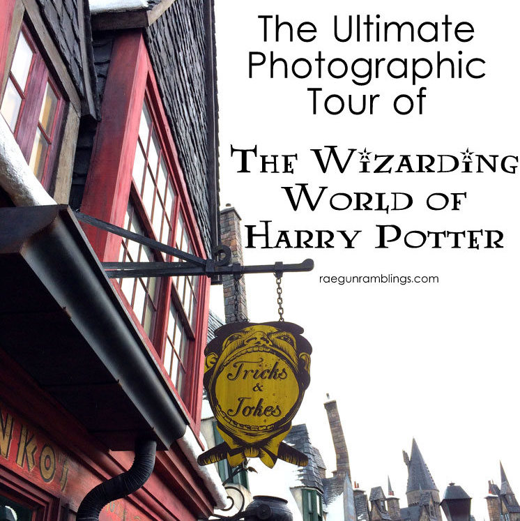Can't make it to the Wizarding World of Harry Potter right now. No worries tour it through pictures while you get excited for when you can really be there!