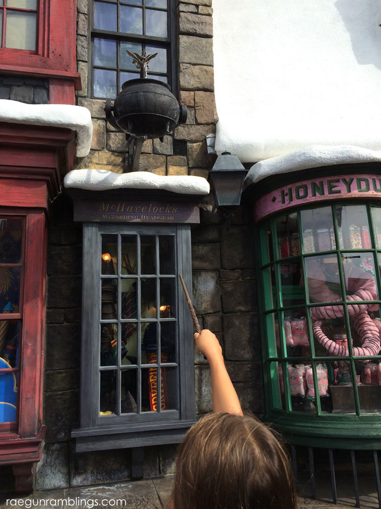 Hogsmeade at the Wizarding World of Harry Potter tour through pictures